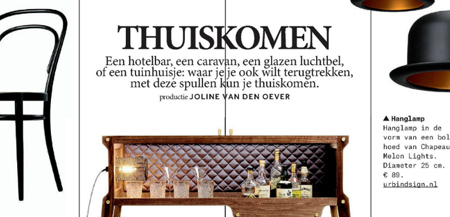 Volkskrant Magazine Design Issue - Thuiskomen - 3rd of may 2014 - 1