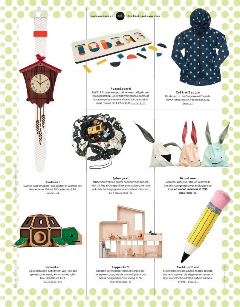 Christmas Gifts Volkskrant Magazine Joline Van Den Oever